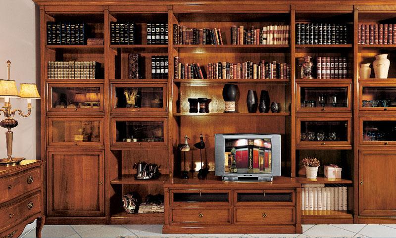 Libreria classica arredi predosa for Fiusco arredi catalogo